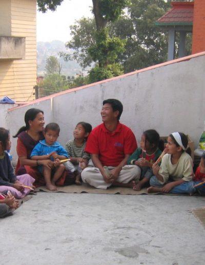 Kinder mit Mareile